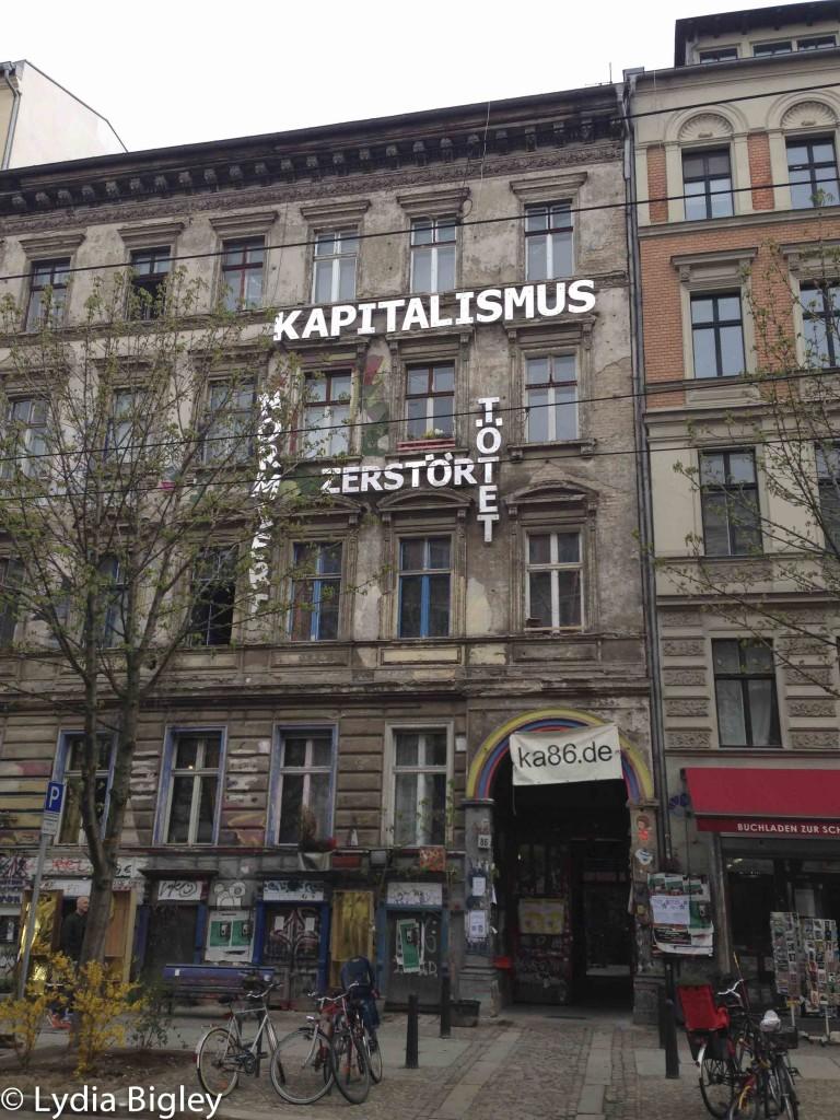 Kastanienallee 86, house project, Berlin