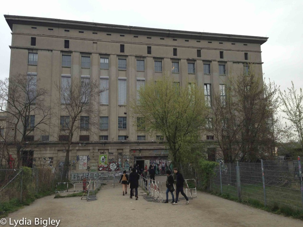 Leaving the infamous Techno club 'Berghain' in Friedrichshain